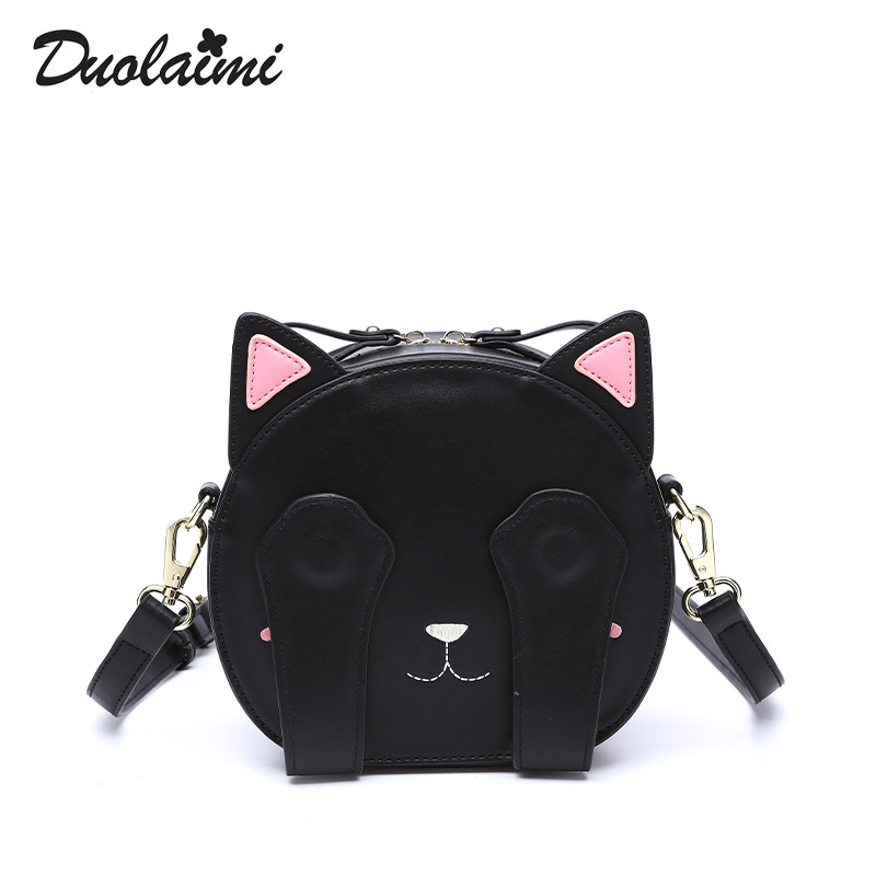 Promotions Hot Sell Brand In summer 2018  of cartoon single shoulder lady lovely Cat cute student bag  Clutch Women Bags  best rakesh kumar production potential of summer mungbean cultivars in india