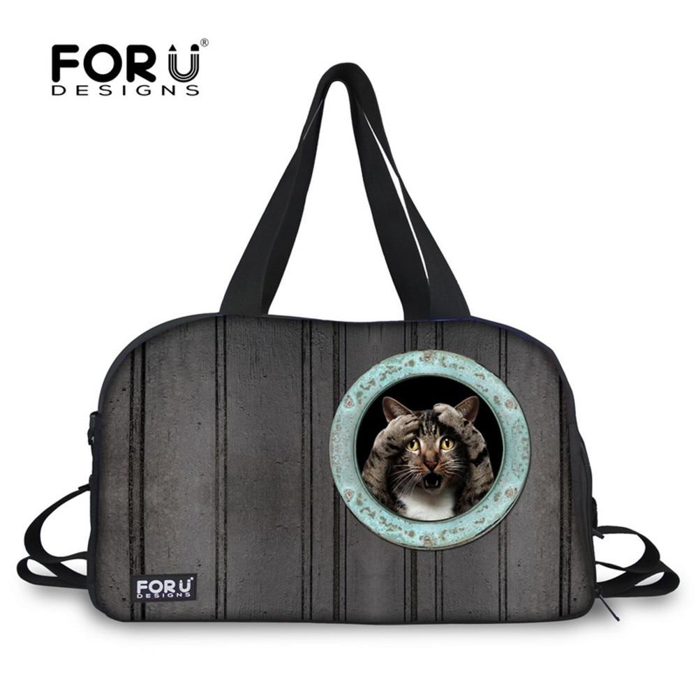 FORUDESIGNS Women Team Training Bag Vintage High Capacity Canvas Duffle Travel Weekend Bag Bolsa Feminina Portable Shoulder Bags|bag bolsa|bag bolsa feminina|bag vintage - title=