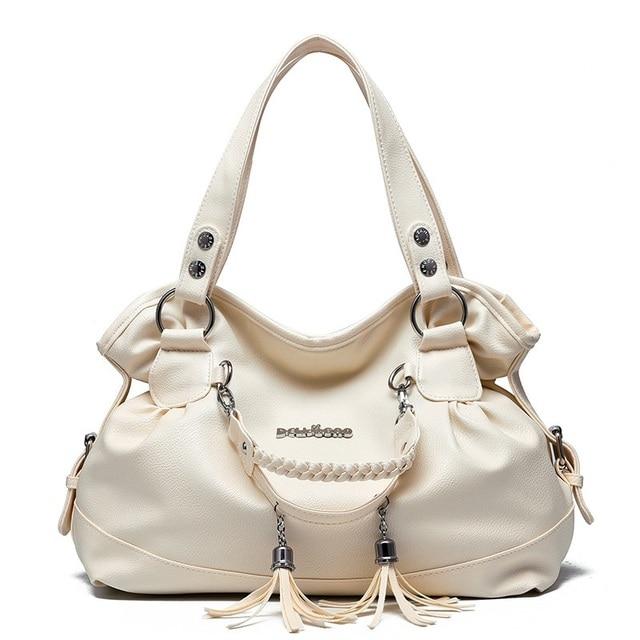 2f633cb8d75 Women Bags Designer Women Handbag Female PU Leather Bags Handbags Ladies  Portable Shoulder Bag Office Ladies Hobos Bag Totes