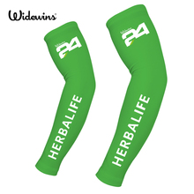 Herbalife sunscreen cuff bike cycling arm warmers sleeve summer bicycle sleeves Silicone Elastic Band S-XXL 1002