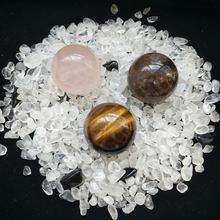 Природный гравий и розовый кристалл обелиск Кварцевый Точка