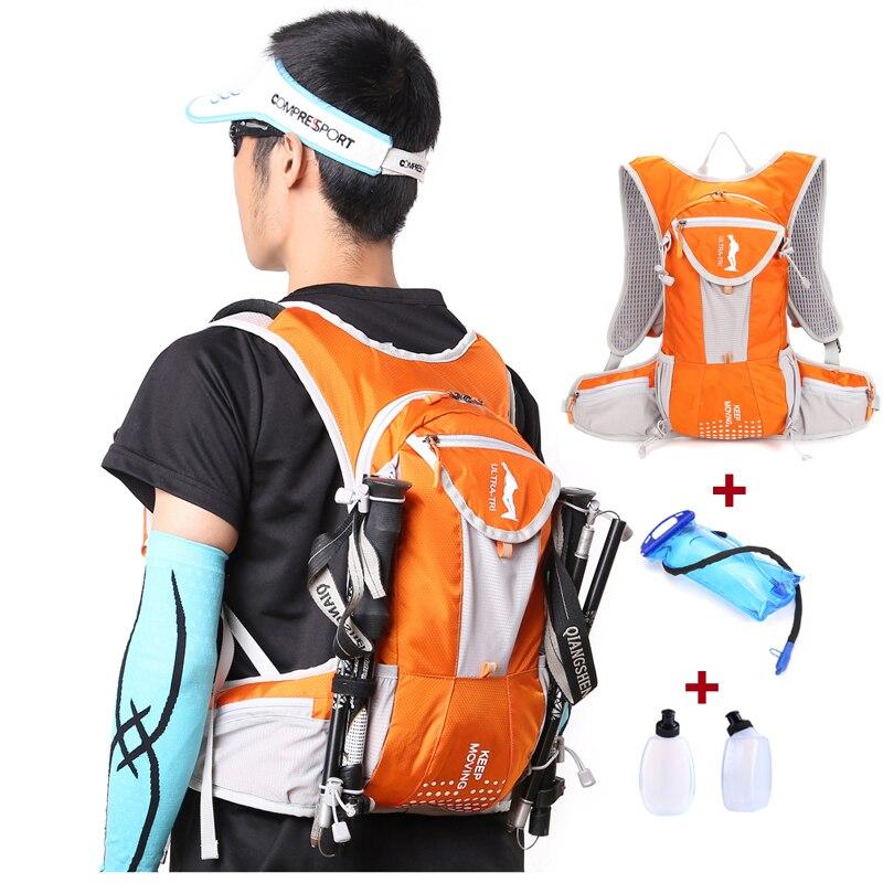 ULTRA TRI Hydration Trail Running Backpack Outdoor Sports Bag Race Training Professional Lightweight Vest Mochila 12L