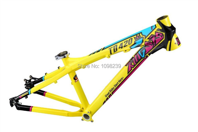 Upgraded Kinesis TD420S 4X Dirtjump DJ SLOPE BMX bicycle hardtail ...