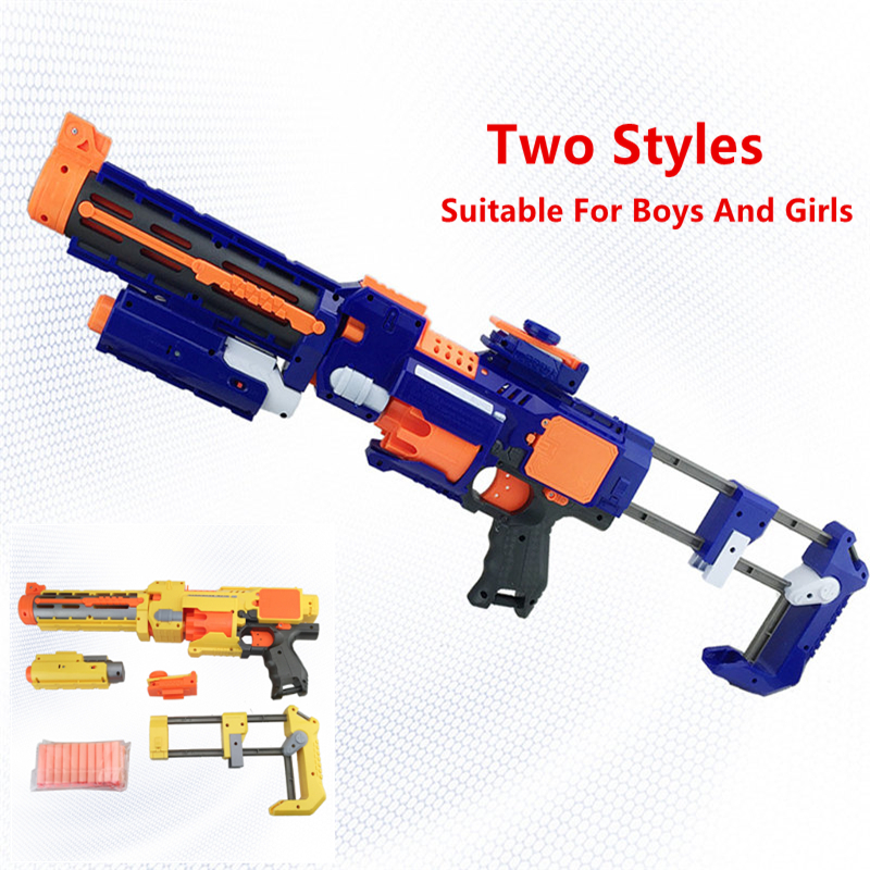 ФОТО Sniper Rifle  Toy Gun Electric Gun Soft Bullet Plastic Toys Machine Guns Bursts Compitable with N-Strike Modulus Gifts