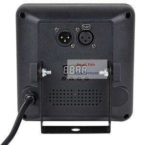 Image 4 - 4 шт./лот DMX/IR пульт дистанционного управления LED шоу панель 9X4W RGBW 4IN1 роскошный DMX 8 каналов LED плоский Par свет 90 240 В Бесплатная доставка
