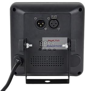 Image 4 - 4 pièces/lot DMX/IR télécommande LED spectacle panneau 9X4W RGBW 4IN1 luxe DMX 8 canaux LED plat Par lumière 90 240V livraison gratuite