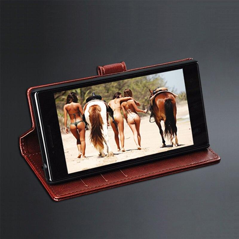 5 T OnePlus 5 T Kasus Cover Kulit Crazy Horse balik Pu Kasus Untuk - Aksesori dan suku cadang ponsel - Foto 4