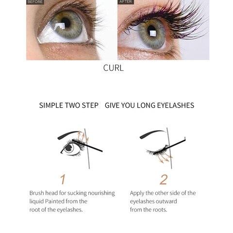 QIBEST Eyelash Enhancer Serum Eyelash Growth Serum Treatment Natural Herbal Medicine Eye Lashes Mascara Lengthening Longer TSLM2 Multan