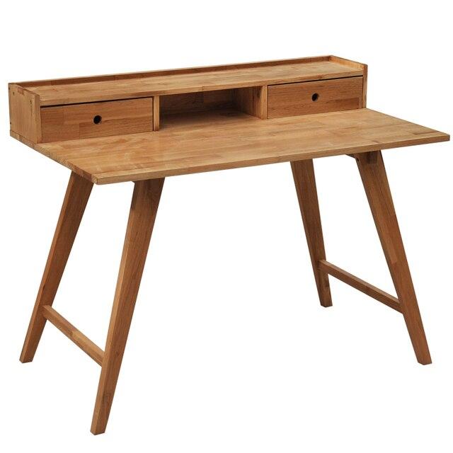 bois bureau avec tiroirs scandinave minimaliste bureau ordinateur portable bureau ch ne bureau d. Black Bedroom Furniture Sets. Home Design Ideas