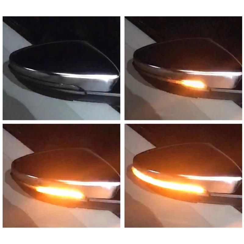 Dynamique LED Clignotant Signal Lumineux Côté Miroir convient pour VW Volkswagen Passat CC B7 Scarabée EOS Scirocco R Jetta a6 GLI RLine
