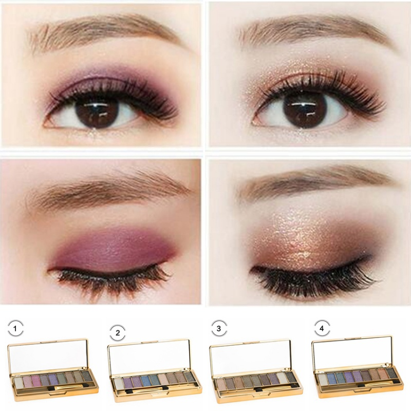 Style; In 8 Colors New Diamond Bright Makeup Eyeshadow Palette Maquillage Eye Shadow Professional Make Up Eyeshadows Cosmetic With Brush Fashionable