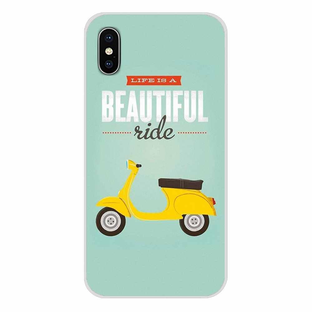 ベスパスクーターアクセサリー電話シェルカバー Huawei 社 G7 G8 P7 P8 P9 P10 P20 P30 Lite ミニ Pro の P スマートプラス 2017 2018 2019