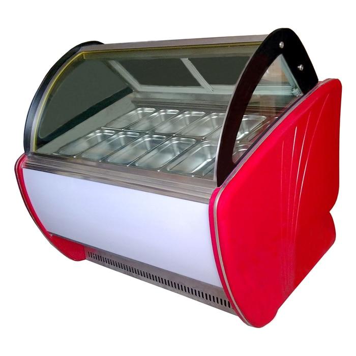 Ice-lolly Freezer Display Refrigerator/Ice Cream Showcase/Ice Cream Display Freezer