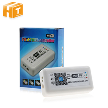 RGB WiFi Led Controller DC12-24V With 21Key RF Remote Control For RGB LED Strip Light / Panel Light / Ceiling Lamp