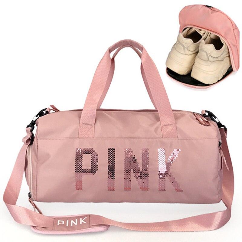 Backpack Gym-Bag Separate-Space Travel Fitness Sac-De-Sport Women Handbag Shoes Outdoor
