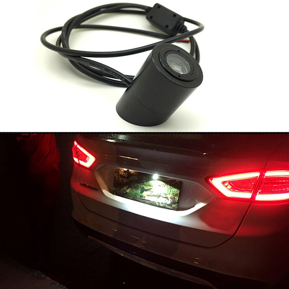 Universal Car Laser Tail Logo Led Light Anti Collision