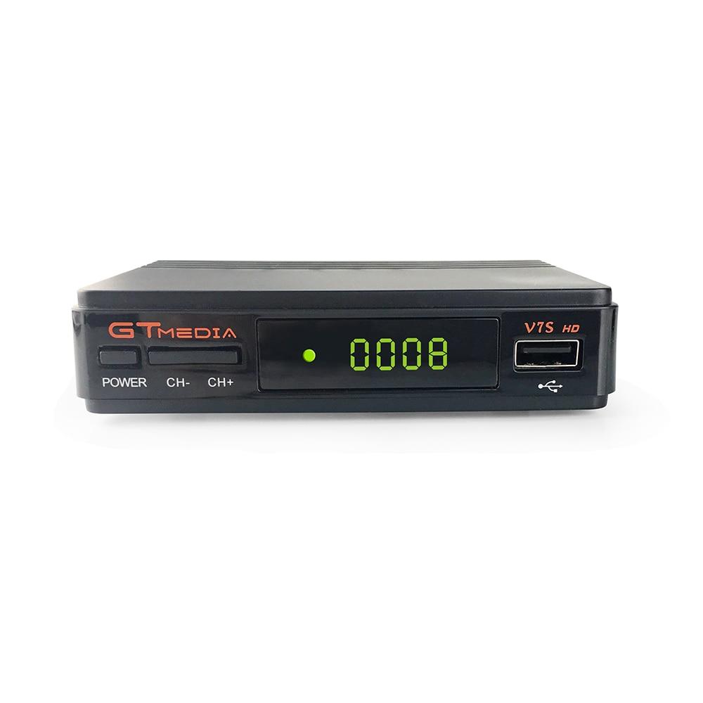 Hot Satellite TV Receiver GTMedia V7S HD Receptor Support Europe Cline for Spain DVB-S2 Satellite Decoder Upgrade Freesat V7 HD
