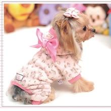 Купить с кэшбэком Warm Dog Clothes For Small Dogs Winter Coats Honden Hoodie Bluza Dla Psa Fleece Sweater French Bulldog Coat Bluzy Dla Psa 5d0100
