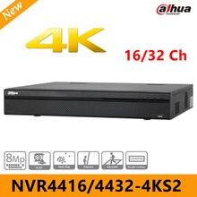 2017 Новый CCTV Dahua NVR4416-4KS2/NVR4432-4KS2 16/32 канала 1.5U 4 К H.265 Lite Сетевой Видео Регистраторы MAX 200 Мбит/с до 8MP