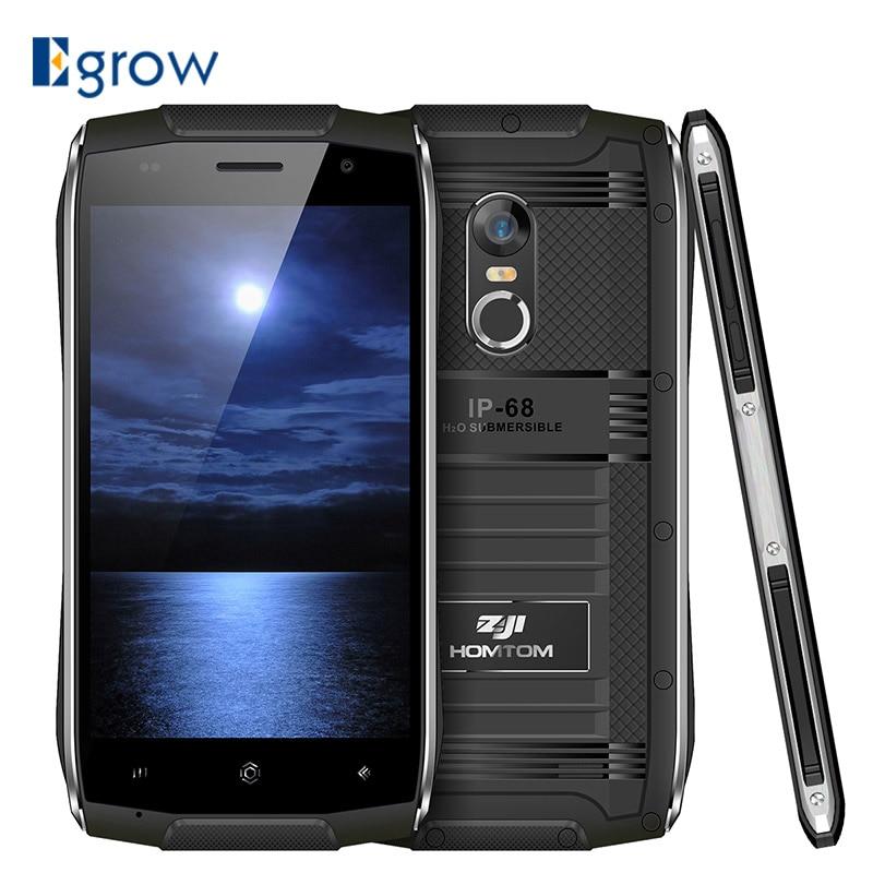 bilder für HOMTOM ZOJI Z6 Original 4,7 zoll IP68 Wasserdicht Smartphone Android 6.0 MTK6580 Quad Core 3G 1,3 GHz 1 GB RAM 8 GB ROM Handys