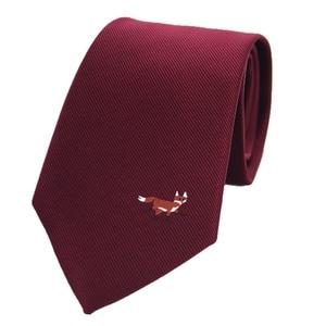 Image 1 - JEMYGINS original 8cm natural silk tie handmade logo fashion mens tie multicolor mens jacquard tie business dress casual party