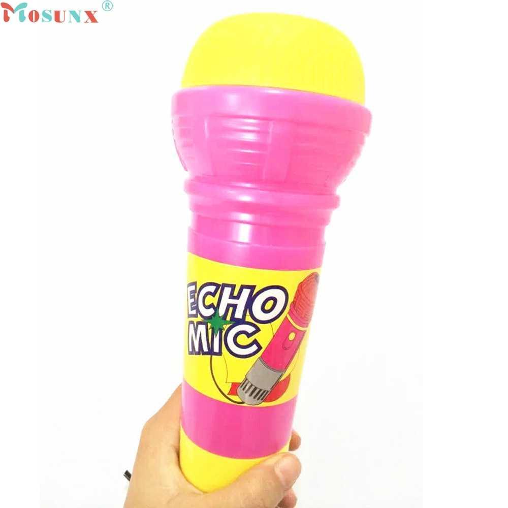 Mosunx Pabrik Harga Echo Mikrofon MIC Voice Changer Hadiah Mainan Hadiah Ulang Tahun Pesta Anak Lagu June30 Drop Pengiriman