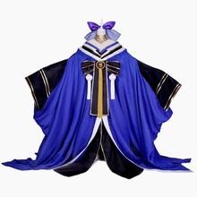 Anime Cosplay Costume Fate/Grand Order Tamamo no Mae Witch Fox Gorgeous Kimono Dress Z цена 2017