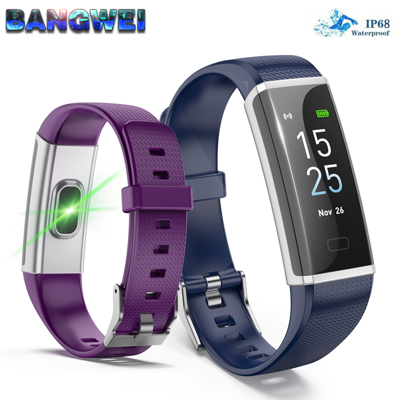 BANGWEI Sports watch Women Men Heart Rate blood pressure watches Calories Pedometer fitness smart Watches For IOS Android PhoneBANGWEI Sports watch Women Men Heart Rate blood pressure watches Calories Pedometer fitness smart Watches For IOS Android Phone