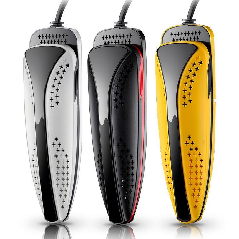 220 V 15 W spina 5A Qualità Asciuga Scarpe Piede Protector Boot Odore di Deodorante Scarpe Dispositivo Essiccatore Riscaldatore 3 Colori NUOVO 2017