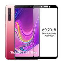 for samsung galaxy a 9 2018 case cover tempered glass for samsung