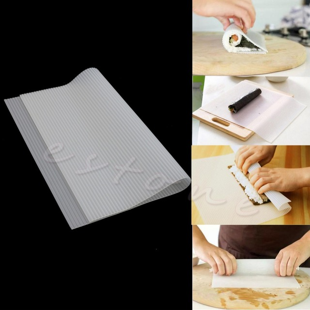 E74 Novo Silicone Mat Sushi Kimbap Rolo Mat Pad Bakeware
