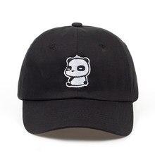 2018 nueva moda casual Panda Bordado SnapBack sombreros hombres mujeres  gorra de béisbol ajustable sombreros variedad unisex al . 157ae3b5f93