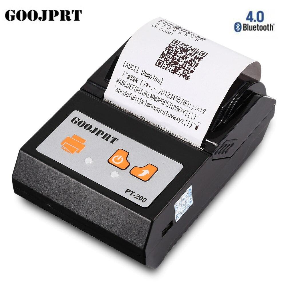 New Arrival GOOJPRT PT200 Portable Wireless 58mm