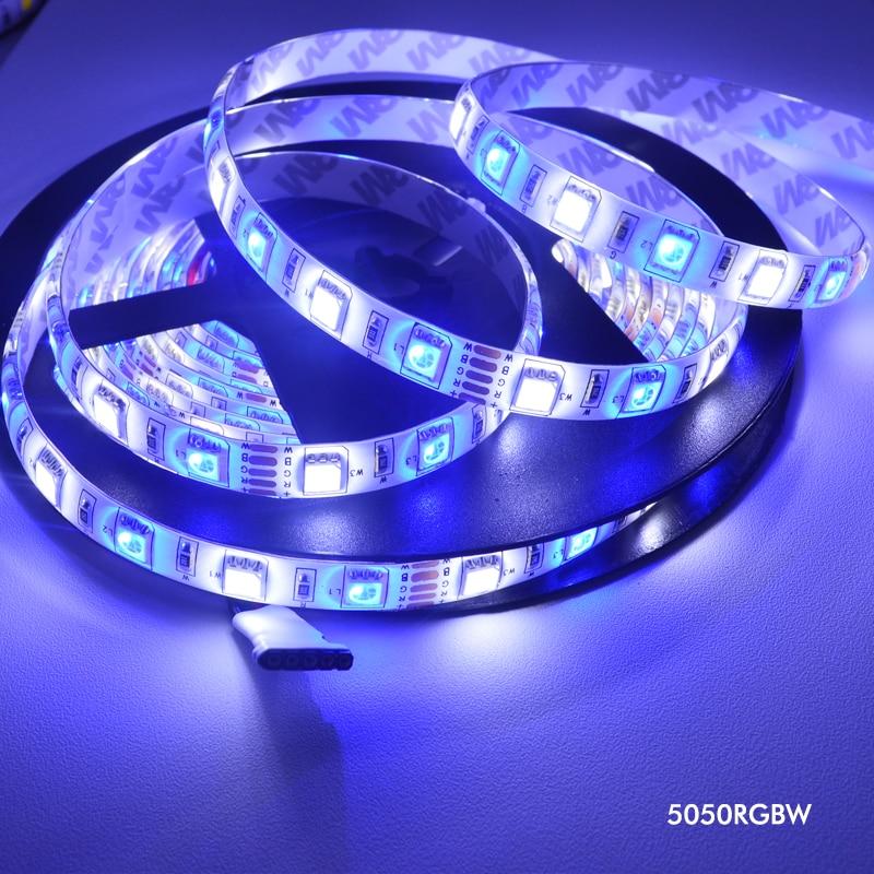 5m Dc12v Led Flexible Strip Light Rgbw Rgbww Waterproof Non Waterproof Smd