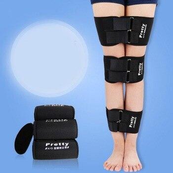 3 pièces jambes posture correcteur o-type x-type jambe Correction ceinture jambières à pattes ceinture bande à pattes correcteur Durable ceintures kit