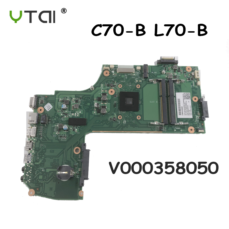 C70 Motherboard EM 2100 CPU 1GHz For Toshiba Satellite C70 C75 C75D C75D B C75D B7260