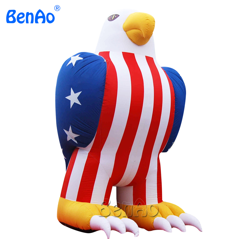 Z014 inflatable advertising product Eagle model inflatables for promotion with customized logo,inflatable promotional model advertising inflatables stars for stage