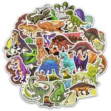 50 adet/takım Hayvan Dinozor Çıkartmalar Oyuncaklar Çocuk Su Geçirmez Çıkartmalar kendi başına yap çıkartma Dizüstü Kaykay Bagaj Çıkartmaları
