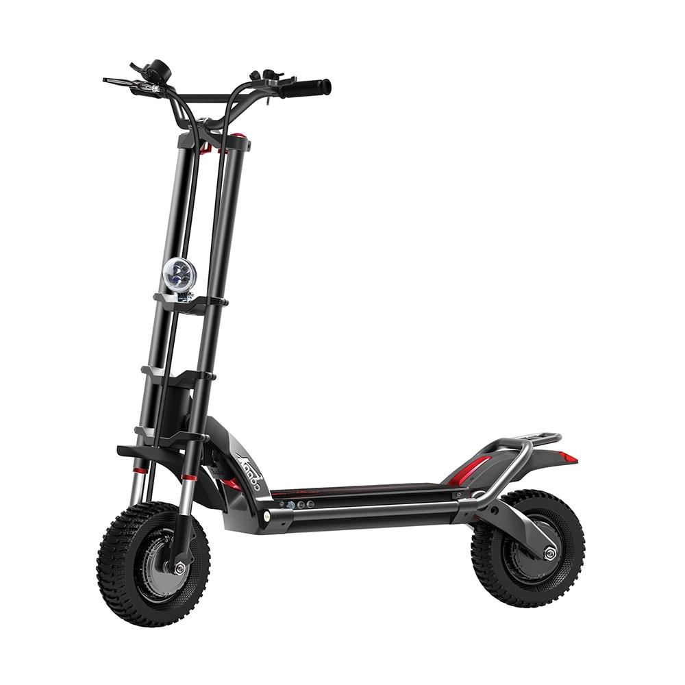 2018 Kaabo Lupo Guerriero II Nuovo Disegno 11 pollici Offroad 60 V 35AH Scooter Elettrico con assorbimento degli urti Idraulici