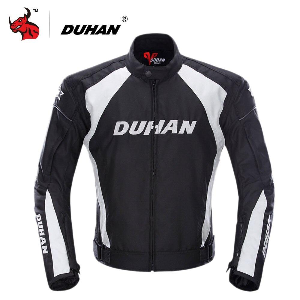 DUHAN мотоциклетная куртка Мужская ветрозащитная мото кроссовая куртка одежда Защитное снаряжение с пятью защитниками мотоциклетная куртка