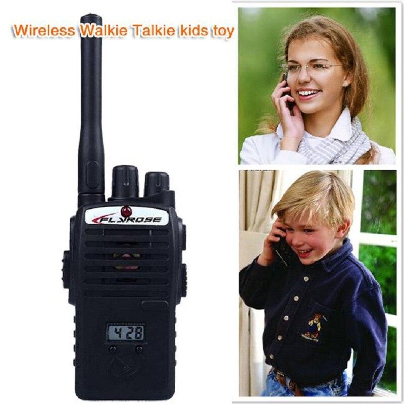 2PCS Electronic Walkie Talkie Toy Wirele