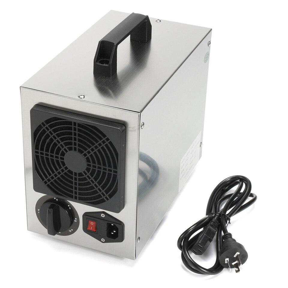 Maison Commerciale Générateur D'ozone 7 g/h O3 Purificateur D'air Désodorisant 220 V/110 Filtre À Air Pour L'hôpital Usine Accueil Plug UA