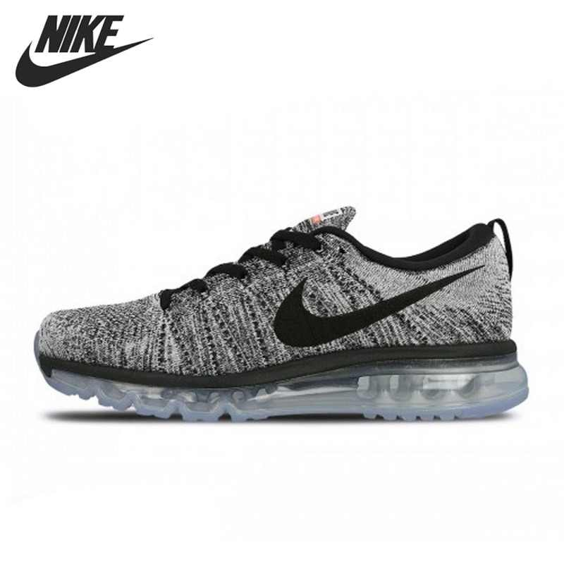 Original New Arrival Nike Flyknit Max Men S Running Shoes Sneakers Running Shoes Aliexpress