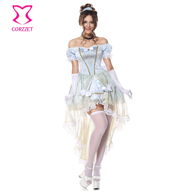Victorian Gothic Medieval Princess Fancy Dress Lolita Women Anime <font><b>Cosplay</b></font> Cinderella Costume <font><b>Halloween</b></font> <font><b>Sexy</b></font> Costumes for Adults image