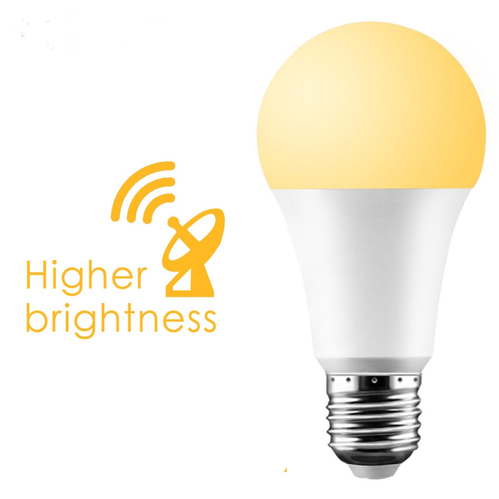 Radar PIR Motion Sensor LED Bulb E27 LED Night Light Auto On Off 15W 20W 220V Energy Saving Light Bulb For Porch Wall Stairs