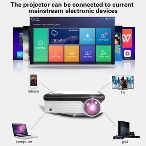 Image 5 - CRENOVA הכי חדש 1920*1080P אנדרואיד מקרן עבור 4k וידאו Led מקרן עם אנדרואיד 7.1 OS Wifi Bluetooth מלא HD Beamer