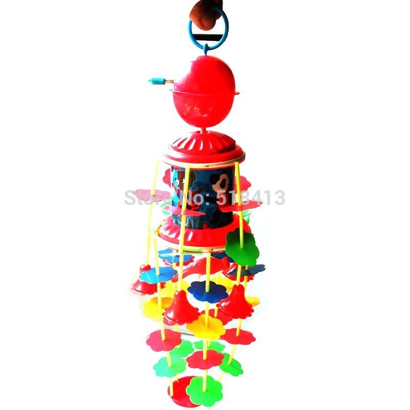 Baby Bed Bell Chain Wind Up Wind Chime Toys 0 And 1 Year -3030