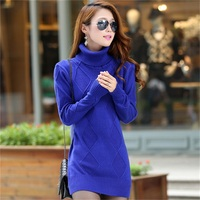 High Quality Cashmere Sweater Pullover High Collar Turtleneck Sweater Turn Down Collar Solid Color Women S