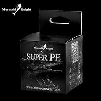 MermaidKnight 500 Mt/550YDS Supermacht PE 8 Geflochtene Angelschnur Superline für Multigelenk-pike Carp Grob Sea Spiel Predator angeln