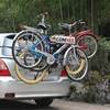COMVEE Car Bike Rack Bicycle Trailer Rack Hitch Carrier 78x49cm For Three Bikes Auto Mount Carrier